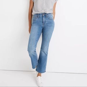 madewell Cali Demi-Boot Jeans in Timpson W…